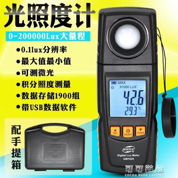 標智0.1LUX高精度光照度計照度儀光照強度測試儀弱光測光錶YYP 可可鞋櫃