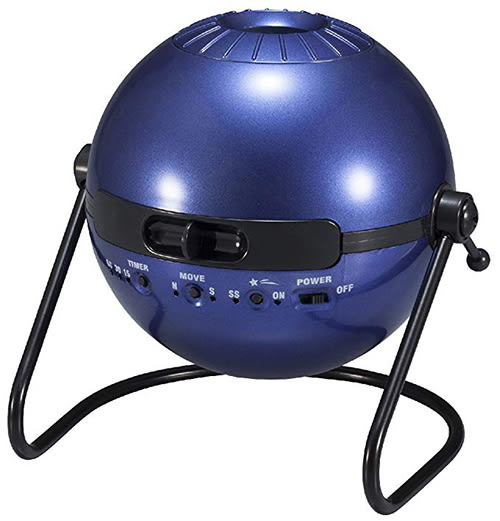 HOMESTAR Classic【日本代購】  星空投影機 流星 星象儀 定時6萬顆星星-金屬深藍