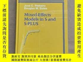 二手書博民逛書店Statistics罕見and Computing:Mixed-Effects Models in S and S