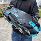 手勢感應變形遙控汽車金剛機器人可充電兒童玩具男孩小孩玩具車車