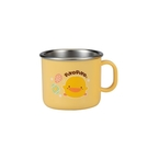 PiYo黃色小鴨-不鏽鋼隔熱小單耳杯180ml(630139)[衛立兒生活館]