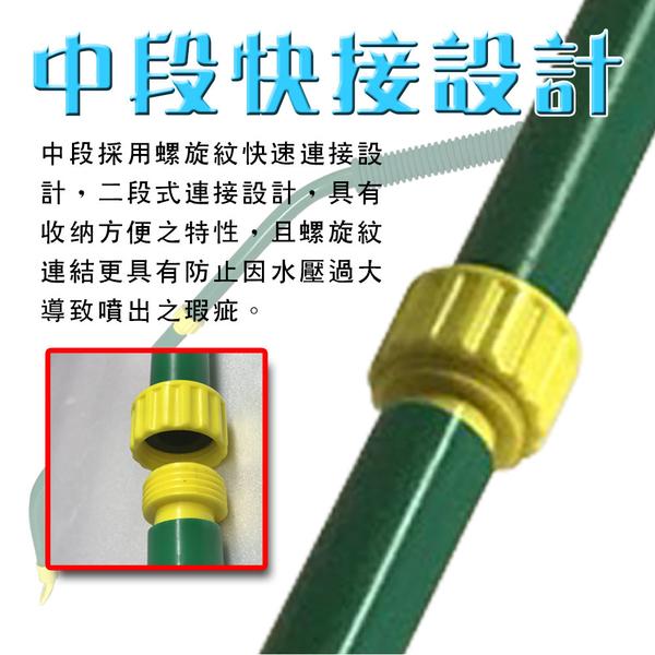 金德恩 台灣製造 二段式超大面積清洗水掃把