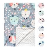 泡泡毯包巾嬰兒被 雙層柔膚安撫毯-JoyBaby