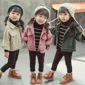 女童外套寶寶1一2-3歲兒童韓版公主風衣洋氣上衣 錢夫人小鋪