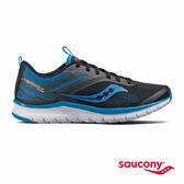 SAUCONY LITEFORM MILES 輕運動休閒鞋-黑x藍