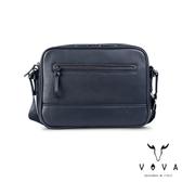 【VOVA】  公爵系列職人斜背包(爵士藍)VA120S02BL