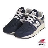 New Balance 新竹皇家 247 藍色 網布 套入式 運動鞋 男女款 NO.B0104