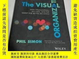 二手書博民逛書店THE罕見VISUAL ORGANIZATION:視覺組織(英文