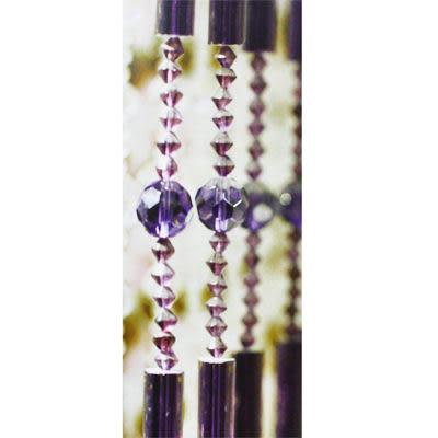 微笑城堡[開運水晶簾90菱形珠](每條每米145元)窗簾 門簾(華麗訂製)(下殺底價)(最后促銷)10條起售