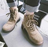馬丁靴女英倫風短靴平底新款秋冬季韓版百搭學生棉鞋靴子女