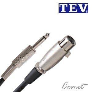 【小新的樂器館】TEV 04M-6.3 (6公尺)麥克風線
