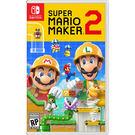[哈GAME族]免運費●含首批限量手機支架●NS 超級瑪利歐創作家 2 中文版 Super Mario Maker2