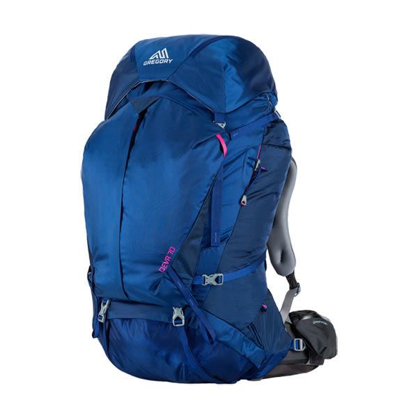 [GREGORY] DEVA 70 專業登山背包 70L - 埃及藍、寶石紅 (GG65039)