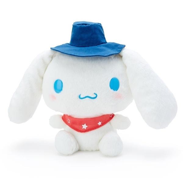 〔小禮堂〕大耳狗 絨毛玩偶娃娃《M.藍帽》擺飾.玩具.露營派對系列 4901610-29945