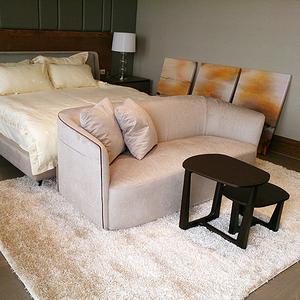 【YFS】匹茲堡地毯 - 星雲白 200x290cm(地毯 白 溫暖