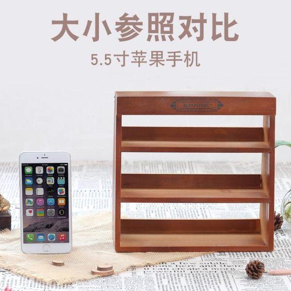 [超豐國際]zakka實木玩具收納架 墻上裝飾品客廳臥室墻面1入