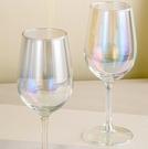 酒杯 紅酒杯6只套裝家用創意大號水晶玻璃葡萄醒酒器2個奢華高腳杯酒具【快速出貨八折鉅惠】