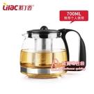茶壺 耐熱玻璃茶壺不銹鋼過濾花茶壺家用茶具套裝單壺泡茶器水壺
