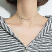 S925銀項錬女鎖骨錬韓版簡約脖子飾品