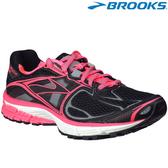 【BROOKS】美國進口Ravenna 5 女款輕量支撐慢跑鞋 - 螢粉