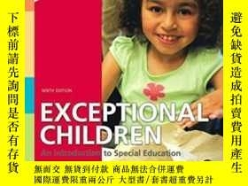 二手書博民逛書店Exceptional罕見Children: An Introd