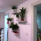 裝飾架  創意墻壁一字隔板臥室書架簡約現代擱板壁掛客廳裝飾【中秋節禮物好康八折】
