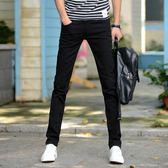 牛仔褲 新款牛仔褲男彈力修身小腳褲青年男士韓版潮流學生褲子男薄款【superman】