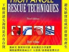 二手書博民逛書店High罕見Angle Rescue Techniques Text And Field Guide Packag