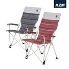 丹大戶外【KAZMI】KZM 彩繪民族風舒適折疊椅 酒紅/藍灰兩色 K9T3C006 │摺疊椅 │露營 │釣魚