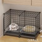 貓籠子家用室內別墅小型貓咪籠子寵物空籠幼貓窩超大自由空間貓舍 快速出貨YJT快速出貨