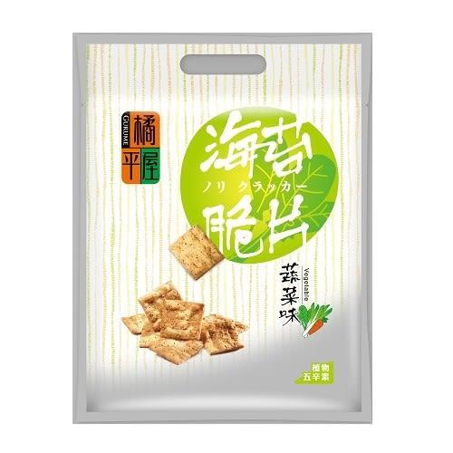 橘平屋海苔脆片量販包蔬菜風味200g【愛買】