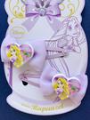 【震撼精品百貨】長髮奇緣樂佩公主_Rapunzel~迪士尼公主系列髮飾/髮夾-蝴蝶結樂佩公主#57623