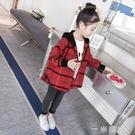 童裝女童秋裝外套2020新款中大兒童洋氣時髦上衣女孩秋季網紅襯衫 雙十二全館免運