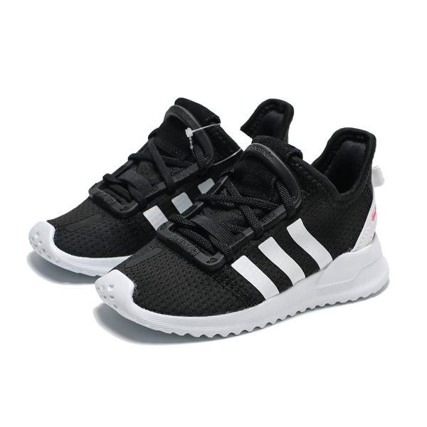 ADIDAS U Path Run 黑白 襪套 假鞋帶 慢跑鞋 中童(布魯克林)2019/4月 G28116
