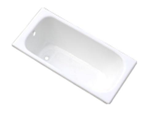 【麗室衛浴】BATHTUB WORLD H-501 高級鑄鐵浴缸  140*70*40CM  ZYA-8-4
