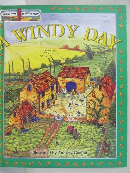 【書寶二手書T9/少年童書_FLM】A Windy Day_Andrew Geeson