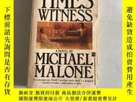 二手書博民逛書店times罕見witness michael maloneY20850 michael malone pock
