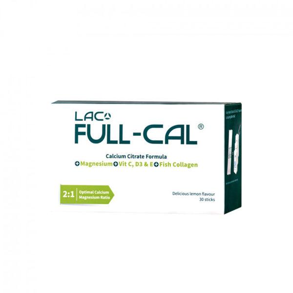 (買2送1)GNC健安喜 LAC Full-Cal 優鎂鈣 30包(檸檬酸鈣+鎂) 元氣健康館