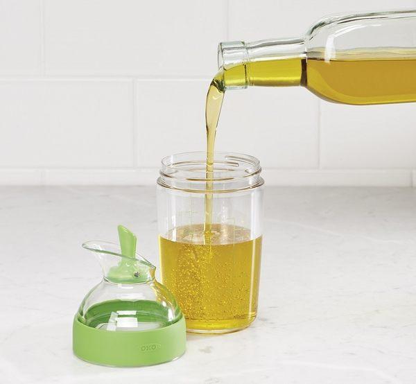 OXO 醬汁搖搖量杯-綠