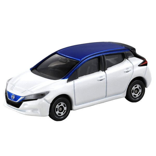 【 TOMICA火柴盒小汽車 】TM093 NISSAN LEAF 日產 ╭★ JOYBUS玩具百貨
