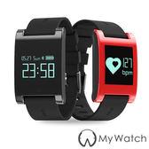 My Watch 運動守護藍牙智慧手環(運動計步/訊息提醒) MY68紅色