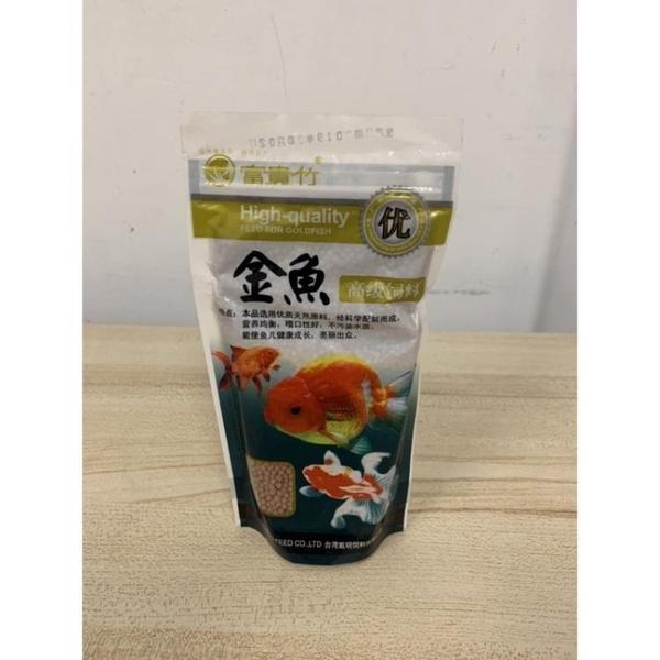 富貴竹高級小顆粒散裝魚飼料金魚飼料觀賞魚飼料(100g/777-8492)