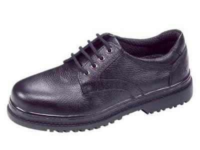 安全鞋 3K 實用型安全鞋 皮革安全鞋 綁帶式 B2032BS01 黑色