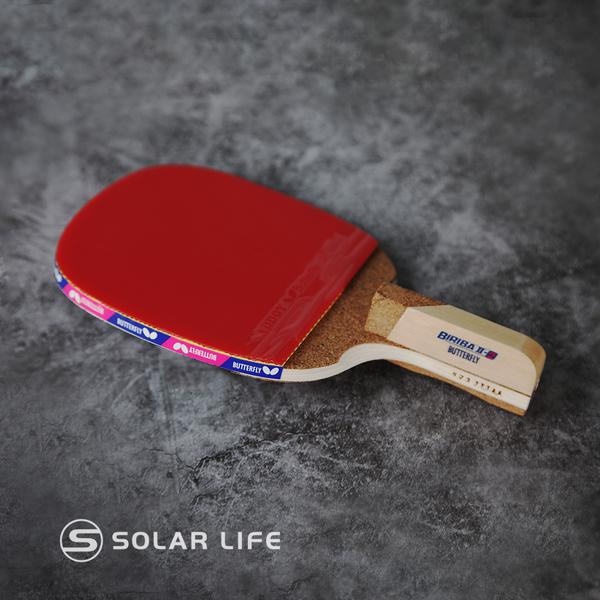 蝴蝶牌 BUTTERFLY 霹靂II-2桌球拍.正手板乒乓球直板直拍