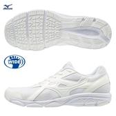 MIZUNO MAXIMIZER 22 男鞋 女鞋 慢跑 健走 寬楦 透氣 一般型 學生鞋 白【運動世界】K1GA200201