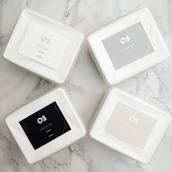 OS千層水滴蛋捲酥(原味/芝麻/咖啡/刺蔥口味任選) 文青盒包裝 200g/盒 【買3盒就送精美提袋】
