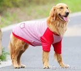 大狗狗衣服夏季金毛犬薄款背心寵物夏裝 ciyo黛雅