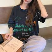 韓版T恤短袖上衣M-XL心機設計感小眾超火韓版短袖T恤女夏季上衣2F014.3288.依品國際