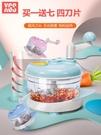 絞菜機 絞肉機家用手動料理機小型攪拌機餃...