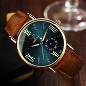 手錶男士韓國韓國簡約夜光皮帶石英錶學生休閒女錶情侶一對手錶【好康八五折】